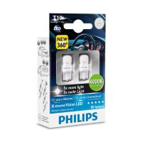 Philips X-treme Vision LED 4000K W5W 127994000KX2