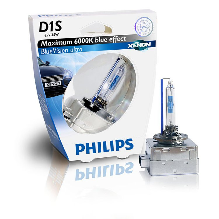 Philips Xenon D1S BlueVision ultra