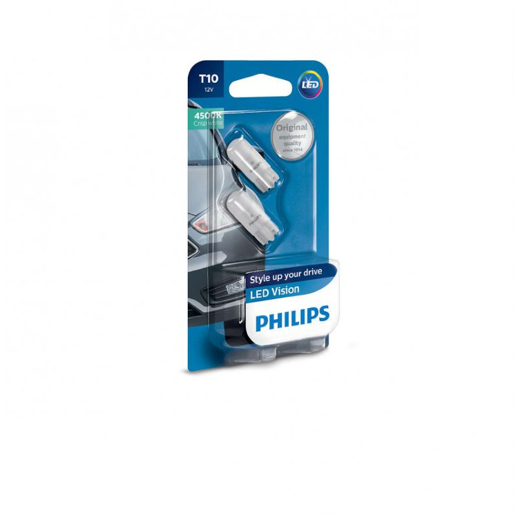 Philips Vision LED 4500K W5W 127914000KB2