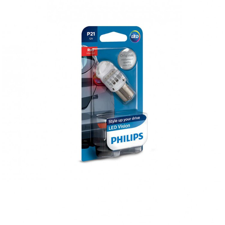 Philips Vision LED Red P21 12839REDB1